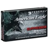 FEDERAL (LC) AMMO 300 Blackout 220gr OTM Subsonic 20/Box
