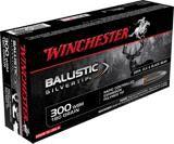 Winchester Supreme .300 Wsm Win Short Mag 180-Grain Ballistic Silvertip Rifle Ammunition