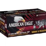 American Eagle 22-250 50 Grain JHP 50 Rounds