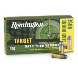 Remington Target 38 S&W 146 Grain Lead Round Nose Box Of 50