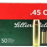 Sellier and Bellot 45 Long Colt 230 Grain Box Of 50