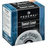 "Federal Top Gun Target Shotshells TG2075, 20 Gauge, 2.75"", 7/8 oz, 1210 fps, #7.5 Shot, 25 Rd/case single"