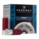 "Ammo 20 Gauge Federal Speed-Shok 2-3/4"" #4 Steel 3/4 Ounce 25/Box 1425 fps WF2084"