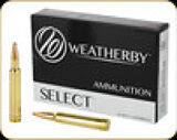 Weatherby - 300 Wby Mag - 180 Gr - Select  - Norma Spitzer - 20ct - G300180SR