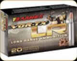 Barnes - 6.5 Creedmoor - 127 Gr - VOR-TX Long Range - LRX Boat Tail - 20ct - 28986