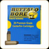 Buffalo Bore - 454 Casull - 360 Gr - Hard-Cast Lead Boat Tail -Long Wide Nose - 20ct - 7C
