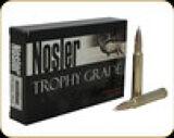 Nosler - 340 Wby Mag - 300 Gr - Trophy Grade - AccuBond - 20ct - 60112