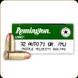 Remington - 32 Auto - 71 Gr - UMC - Full Metal Jacket - 50ct - 23704