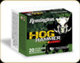 Remington - 454 Casull - 250 Gr - Hog Hammer - Barnes XPB Hollow Point - 20ct - 27806