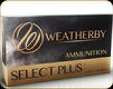 Weatherby - 270 Wby Mag - 130 Gr - Select Plus - Ultra-High Velocity Barnes TTSX (Tipped Triple Shock-X) - 20ct - B270130TTSX