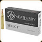 Weatherby - 300 Wby Mag - 165 Gr - Select - Ultra-High Velocity Hornady Interlock - 20ct - H300165IL
