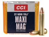 CCI 22 WMR 40gr TMJ Box of 50
