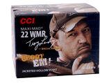 "CCI 22 WMR 40gr JHP ""Swamp People"" 200 Rounds"