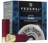 "Federal Game-Shok High Brass 16ga 2 3/4"", #4, 1 1/8oz Lead"