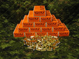 Wolf 45ACP 230gr Lead Round Nose, 1000 Rounds