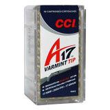 CCI 17 HMR, 17gr Varmint Tip of A17, Box of 50