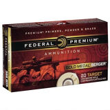 Federal Gold Medal Berger .308 Win 20 Rds 185 Gr Berger OTM