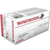 Winchester USA .22-250 Rem 45 Grain JHP 40 Round Box