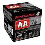 "Winchester AA Target 410 Ga 2 1/2"", 1/2 Oz #9 Lead 25 Rds"