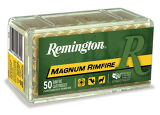 Remington 22 Win Mag 40 Gr, JHP, 50 Rds