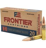 Frontier Cartridge 300 Blackout 125GR FMJ, Box of 20