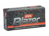 CCI Blazer Aluminum Case  357 Mag 158GR JHP, Box of 50