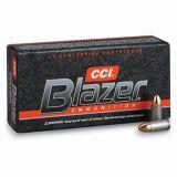 CCI Blazer Aluminum Case  10MM Auto 200Gr FMJ, Box of 50