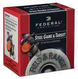 "Federal Field and Range Steel 28 Ga, 2 3/4"", #6, 25 Rds"