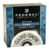 "Federal Game Shok Heavy Field 16 Ga, 2 3/4"", 1OZ, Lead #6, 25 Rds"
