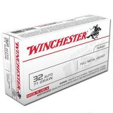 Winchester 32 Auto  FMJ 71 Grain Box of 50