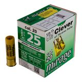 """Clever Mirage T3, 20ga, 24gr, 2 3/4"""", #4, Case of 250"""