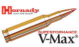 Hornady 222 REM Superformance, V-MAX 50 Grain Box of 20 #8316