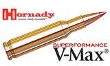 Hornady 222 REM Superformance, V-MAX 50 Grain Box of 20 #8316
