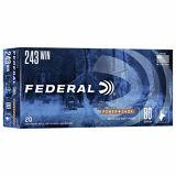 Federal Power-Shok 243 WIN 100 gr SP 20 Rounds