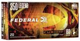 Federal Fusion 350 Legend 160 gr SP RN 20 Rounds