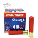 Challenger Game&Sporting 410 Gauge 1/2oz. 2-1/2 inch #4 Shot 25rds