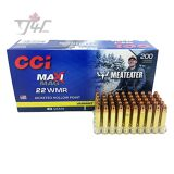 CCI Maxi-Mag MeatEater .22WMR 40gr. JHP 200rds