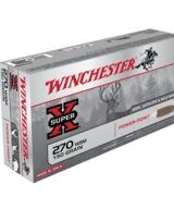Winchester .270 WSM 150 Gr. Power Point – Case (200 Rounds)
