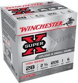 "Winchester Super-X High Brass Upland/Small Game Shotgun Loads - 28ga, 2 3/4"", 1 oz, #6, 25rds Box"