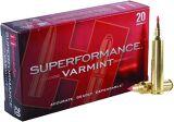 Hornady Superformance Varmint Rifle Ammo - 204 Ruger, 32Gr, V-MAX Superformance, 20rds Box