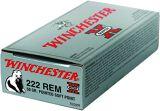 Winchester X222R Super-X Rifle Ammo 222 REM, PSP, 50 Grains, 3140 fps 20, Boxed