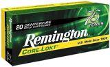 Remington Core-Lokt Centerfire Rifle Ammo - 7mm-08 Rem, 140Gr, Core-Lokt, PSP, 20rds Box, 2860fps