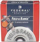"Federal Field & Range Game & Target Load Shotgun Ammo - 20ga, 2-3/4"", 2-1/2DE, 7/8oz, #8, 25rds Box"
