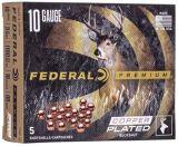 Federal P108F00 Premium Vital-Shok Buckshot 10 GA, 3-1/2 in, 00B, 18 Pellets, 1100 fps, 5 Rounds, Boxed