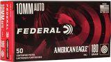 Federal American Eagle Handgun Ammo - 10mm Auto, 180Gr, FMJ, 1000rds Case