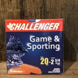 Challenger Game & Sporting 20G, 2&3/4, #8 Target load, 25rd box
