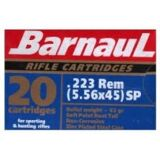 Barnual *500 Rounds* 223Rem 55gr SP Ammunition