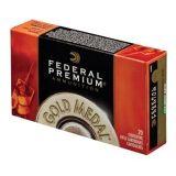 Federal Premium Gold Medal 338 Lapua Mag 300 GR BTHP 2580 FPS 20 Rnds
