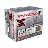 Winchester Super-X 454 Casull 250gr JHP 1300 FPS 20 Rnds