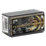 Federal V•Shok 17 HMR 17gr TNT HP 2550 FPS 50 Rnds